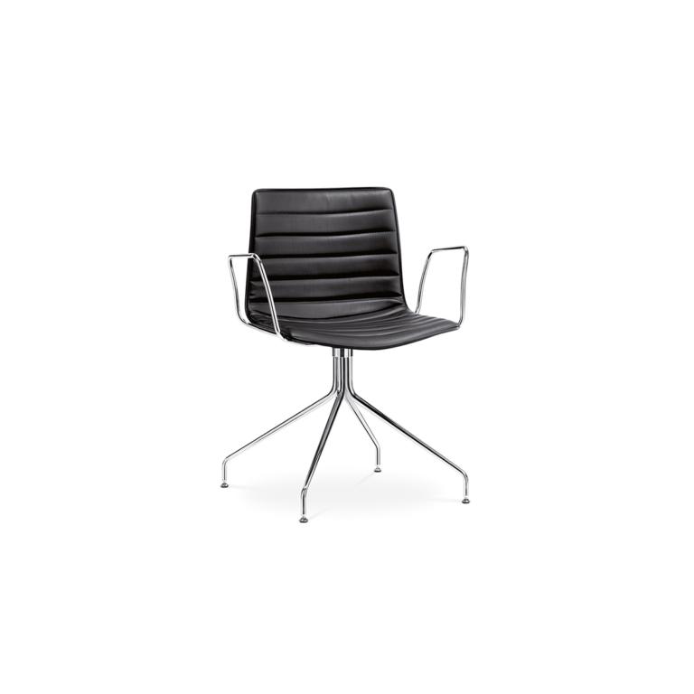 Arper_Catifa46_chair_trestleswivel_CRO_armrest_upholstery_0259BV