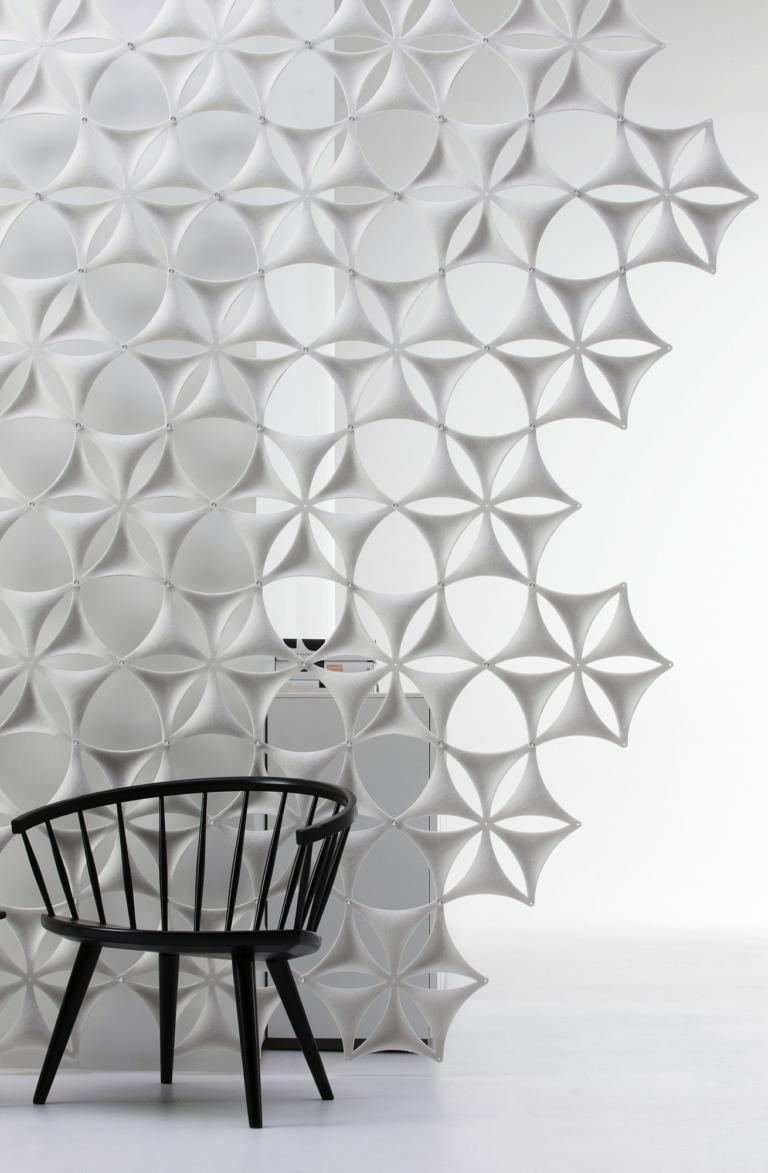 Panele akustyczne Abstracta Airflake