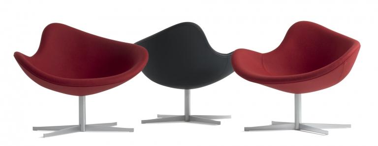 Fotele +Halle K2 swivel