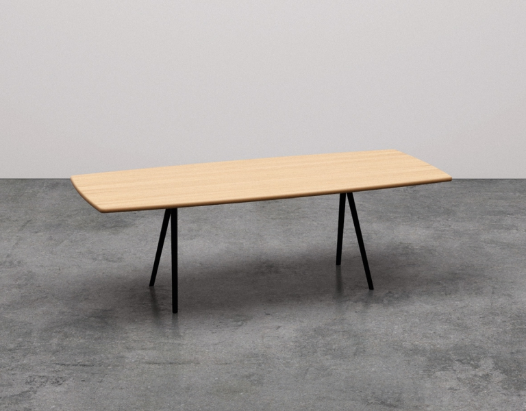 Arper_Meety_MarcoCovi_table_V39_h74_soap-shaped-top_L22_100x200cm_5420_1