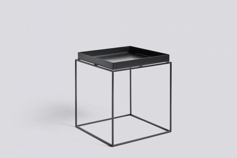 Tray Table 40x40 black