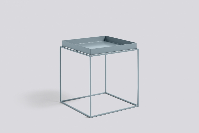 Tray Table 40x40 blue