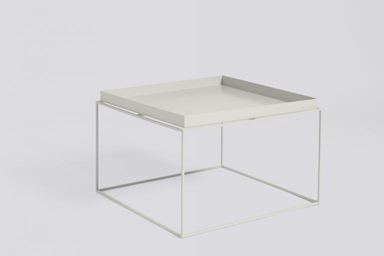Tray Table 60x60 warm grey